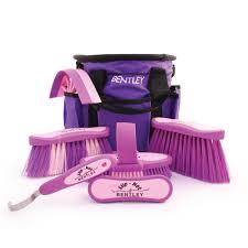 bentley purple bentley equestrian grooming kits