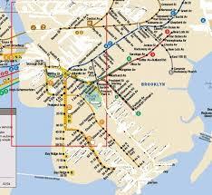 mta map subway mta subway map of