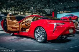 lexus lc 500 engine bay lexus is betting its future on these cars business insider