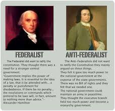 federalism v anti federalism champions u0026 ideas eal aaa