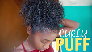 short to medium length hairstyles for curly hair how to curly puff for short u0026 medium length natural hair youtube