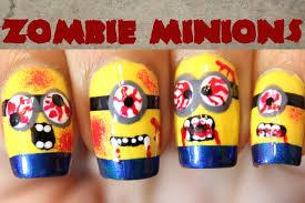 zombie minion nails dee2102 youtube