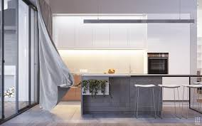 50 modern kitchen designs that use unconventional geometr