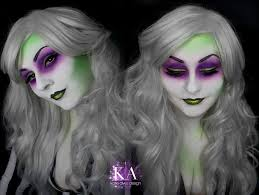 Sorceress Makeup For Halloween by Lady Beetlejuice Makeup With Tutorial By Katiealves On Deviantart