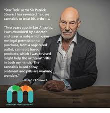 Patrick Stewart Memes - star trek actor sir patrick stewart has revealed he uses cannabis to