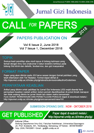 artikel format paper ilmiah jurnal gizi indonesia the indonesian journal of nutrition