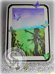spectrum noir sparkle pen tutorial landscaping youtube