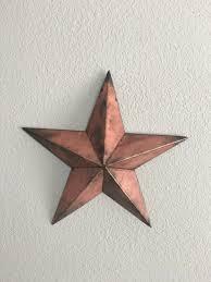 metal star home decor star five point star steel star home decor wall art barn