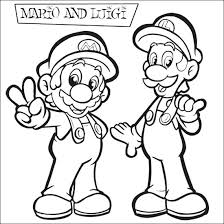mario brothers coloring pages 22 free coloring