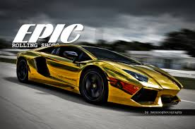 gold lamborghini moyano photography epic rolls