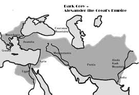 outline u0026 text map of alexander the great u0027s empire
