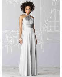 silver bridesmaid dresses silver gray bridesmaid dresses martha stewart weddings