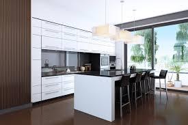 kitchen lovely modern white kitchen cabinets with black