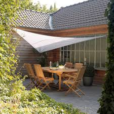 voile d ombrage enroulable toile tendue jardin terrasse diy outdoor patio sun shade curtains