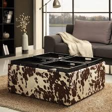 ottomans square tufted ottoman storage ottoman with reversible
