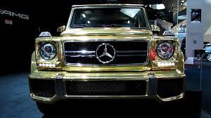 2013 mercedes benz g63 amg gold wrap exterior and interior