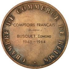 chambre de commerce de reims 551152 medal colbert chambre de commerce de reims