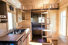 tumbleweed homes interior 63k tiny home manages to feel open and airy in just 188 square