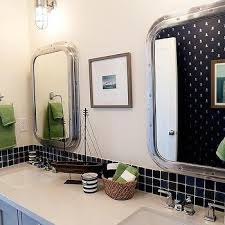 Blue And Green Kids Bathrooms Contemporary Bathroom by Nautical Kids Bathrooms Cottage Bathroom Cottage Company