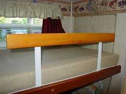 Bed Rail For Bunk Bed Another Custom Bunk Bed Safety Rail View 3 Modmyrv