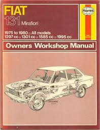 fiat 131 owners workshop manual by j h haynes and colin barge