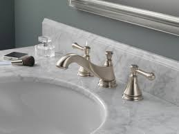 polished nickel bathroom faucet faucet com 3595lf pnmpu lhp in brilliance polished nickel by delta