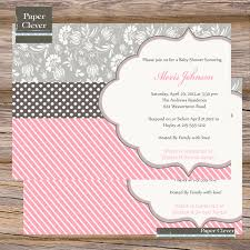 photo baby shower invites in word image