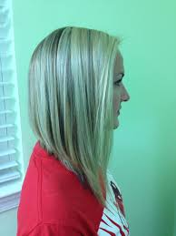 fine graycoming in of short bob hairstyles for 70 yr old long angled bob confessions of a cosmetologist pinterest