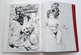 dc comics woman coloring book review impulse gamer