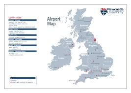 Map Of International Airports Download Map Uk Airports Major Tourist Attractions Maps