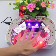 what wattage uv l for gel nails honey use uv l circuit 18w 36w 48w watt led only nail l