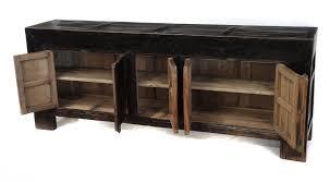 large black sideboard buffet media console tv cabinet custom