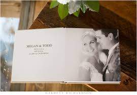 luxury wedding albums fabric wedding album estancia la jolla garrett