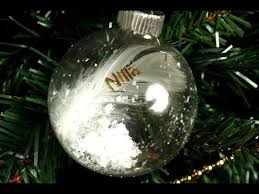 personalised decorations baubles