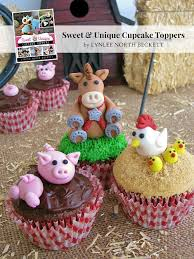 farm cake toppers my book lynlees