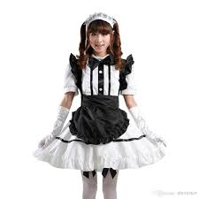 treasure box japanese anime maid cosplay apron costumes