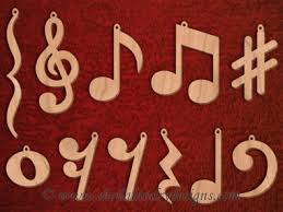 Musical Note Ornaments Product Page