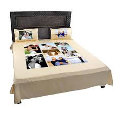 personalized custom photo bed sheets