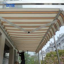 Retractable Waterproof Awnings Waterproof Outdoor Retractable Awning Awning Canopy Carport Shade