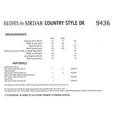 sirdar leaflet 9436 country style dk closs u0026 hamblin