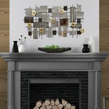 Backsplash Art Llc Stratton Home Decor Industrial Mosaic Metal Wall Decor S07665
