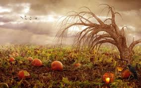 vintage moon pumpkin halloween background halloween fall wallpapers group 65