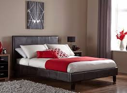 50 discounted offer double leather bed with different types of