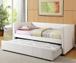 Twin Size Day Bed by Twin Size Cadiz Daybed With Trundle In White Cm1955wh Furniture