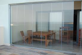 Frameless Patio Doors Single Glazed Frameless Doors Folding Sliding Patio Door Bifold