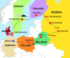Moscow Russia Map Russia Costsaver Home Canada Destination Guides Europe