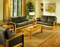 Wooden Living Room Sets Wood Living Room Set Home Design Plan
