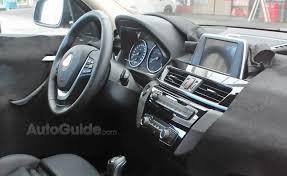 2014 Bmw X1 Interior Bmw X1 Interior Revealed In Spy Photos Autoguide Com News