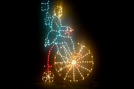 fantasy of lights at vasona park in los gatos south bay riders