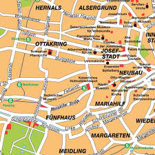 Vienna Map Map Of Greater Vienna Wien Region Austria Maps And Directions